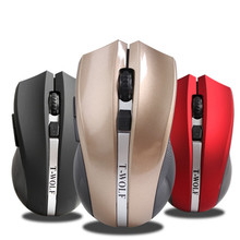 2017 new usb Wireless Mouse silent mute noiseless Optical Mouse Gaming mouse for Laptop Computer Mice