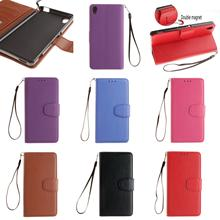 Retro Cheap PU Leather Flip Wallet Phone Case Cover For Sony Xperia Experia M4 M 4 Aqua Dual E2353 Blue Brown Rose Purple Red