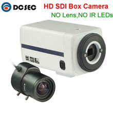 "Professional Metal HD SDI Box camera 2.0MP 1080P 1/3"" Panasonic CMOS Sensor Digital Security HD-SDI Surveillance CCTV Camera(China)"