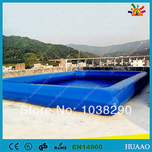 Free shipping swimming pool inflatable pool with free CE/UL blower and repair kit(China)