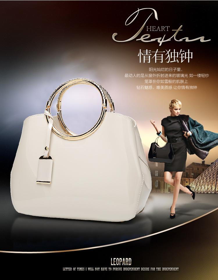 New High Quality Patent Leather Women bag Ladies Cross Body messenger Shoulder Bags Handbags Women Famous Brands bolsa feminina (5)