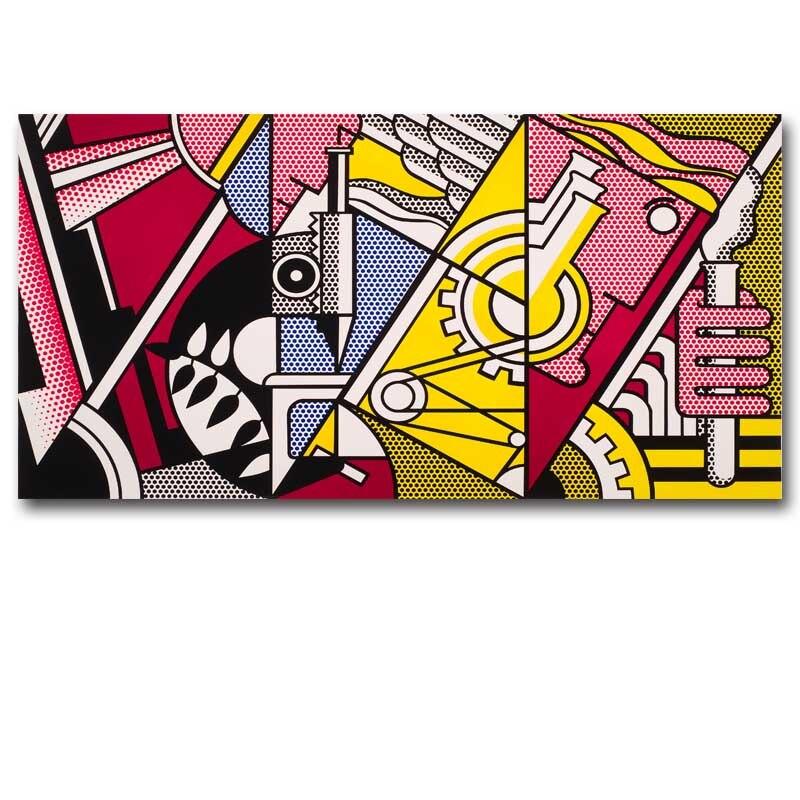 Roy Lichtenstein-Peace Through Chemistry