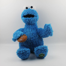 1pcs 60CM=23'' Big Size Original Sesame Street Cookie Monster Plush Toy Stuffed Soft Doll