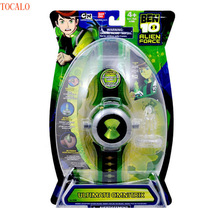 Anime Ultimate Omnitrix Watch Illuminator Lights & Sound Toy Ben 10 Alien Force with Original Box(China)