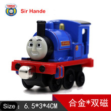 Diecast Metal Thomas and Friends Train One Piece SIR HANDE Magnetic Train Toy The Tank Engine Trackmaster Toy For Children Kids