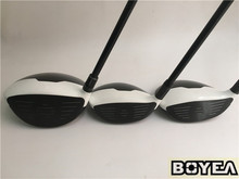Brand New Boyea 12PCS M1 RSi 1 Full Set Boyea  Golf Clubs Driver +Fairway Woods + Irons R/S Flex Graphite Shaft With Head Cover