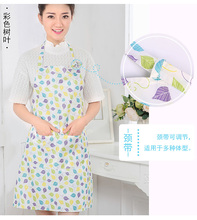 2017 new style Hot Sale Kitchen Women Apron Cooking Chef Aprons Tablier Delantal Avental Cozinha Femme Aprons+Pockets