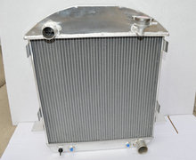 aluminum Radiator for Ford Model T Bucket Chevy Engine 1924-1927 1925 1926 24 25