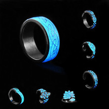 30PCS/LOT Wholesales Chic Glow in The Dark Luminous Fluorescent Spiral Ring Night Light Glowing Finger Rings Bar Party Jewelry