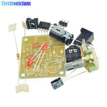 LM386 MINI Amplifier Board DIY Kit 3V-12V Power Amplifier Suit Electronic Fun Kits Beyond TDA2030(China)