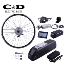 ebike kit Electric bike conversion kit 36V 250W 48V 350W Motor MXUS brand 36V15.6AH 48V13AH Super Bottle battery LED LCD display
