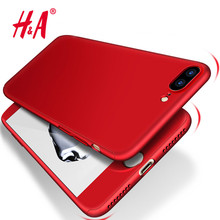 Buy H&A Luxury 360 Degree Full Body Protection Cases iPhone 6 5 5s Case iPhone 6S 7 7 Plus Cover Cases Tempered Glass for $1.89 in AliExpress store