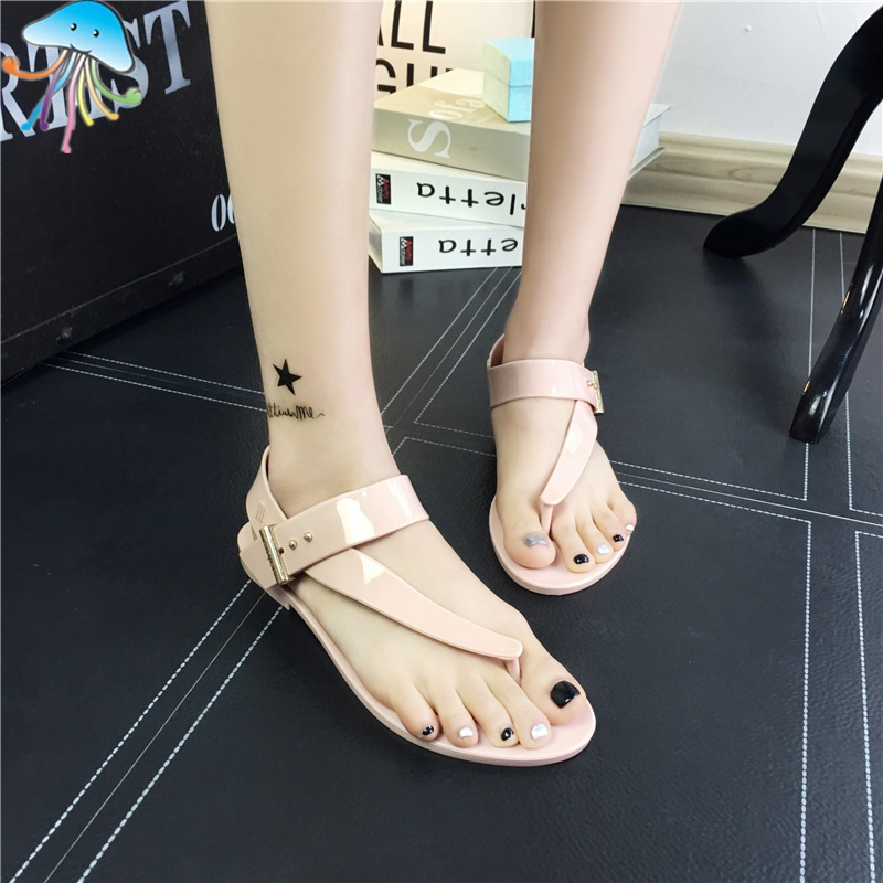 Female Summer comfortable Beach Women Sandals Flat Heel Casual Shoes Hole Shoes Breathable Fashion Bohemia Style Shoes for Lady<br><br>Aliexpress