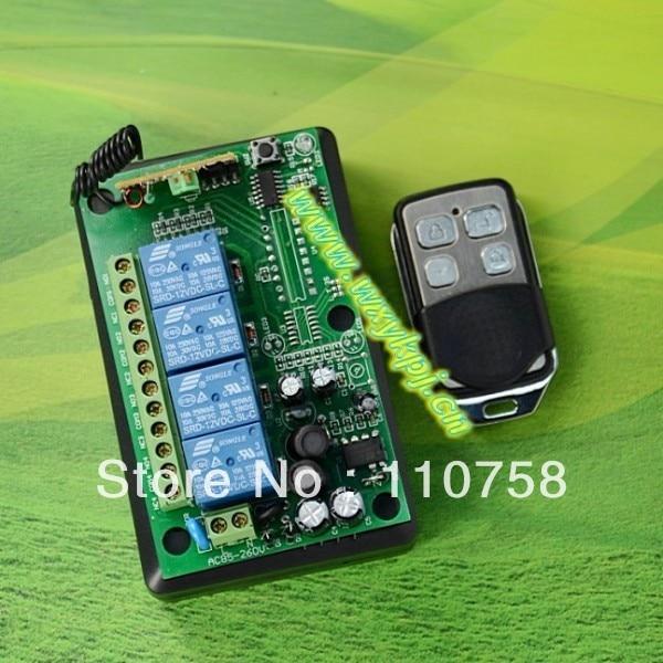 85v-250v 110v rf intelligent remote control switch 433.92mhz rf wireless wall switch led dimmer switch remote control<br><br>Aliexpress