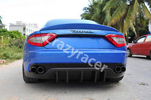 Rear Trunk Boot Lip Spoiler Wing For Maserati Gran Turismo Coupe 2008-2013 Unpainted FRP