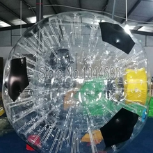 free shipping customized zorb ball 2.5m soccer zorb ball for event