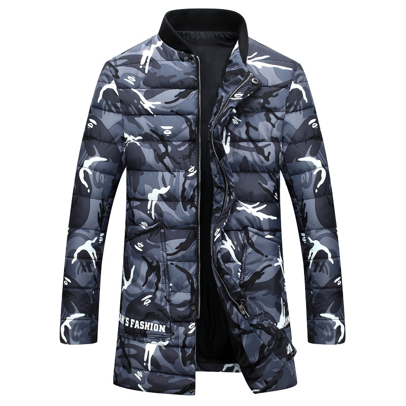 Plus Size 2017 New Mens Down Cotton padded Coat Camouflage Printing Parkas Winter Jacket Men Thick Winter Male Down Coat W361Одежда и ак�е��уары<br><br><br>Aliexpress