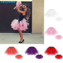 Cutyome Mother And Daughter Tulle Cute Tutu Skirt Clothes Princess Party Ballet Family Matching Mommy And Me Girl Women Clothes