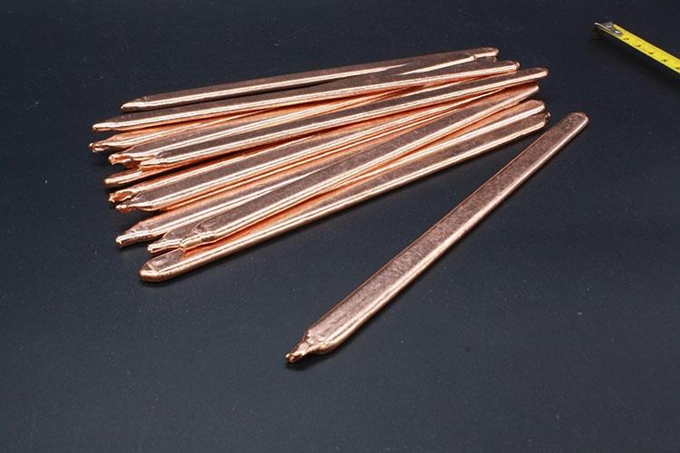 1PCS HT003-3 Heat-Sink Heat Conduction Pipe Flat Copper Heat pipe Length 120*8*2.5mm Laptop CPU/GPU/Video Card DIY Oblate Tube