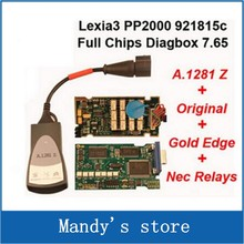 921815 C full chip with led with Best price lexia3 Diagnostic Tool pp2000 lexia 3, lexia-3 diagbox 7.56 software
