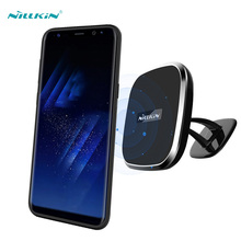 s8 case NILLKIN For samsung galaxy s8 case cover QI Wireless Charging Receiver Back Cover Compatible with Magnetic Holder 5.8''