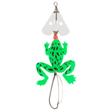 1pcs Style Rubber Frog Shape Soft Fishing Lures Bass Crank Bait Tackle Hooks 9cm/3.54 Inch Fishing Accessories Hot Sale
