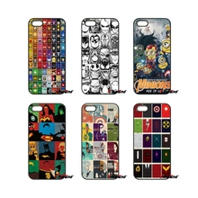 For iPod Touch iPhone 4 4S 5 5S 5C SE 6 6S 7 Plus Samung Galaxy A3 A5 J3 J5 J7 2016 2017 all Super Heroes puzzle dc comics Case