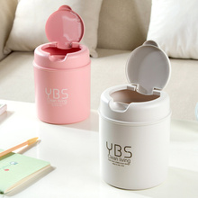 Mini Table Dustbin Plastic Sundries Barrel Simple Style Storage Tank Desktop Trash Can Garbage Storage Rubbish Boxes(China)