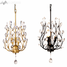JW Europen Style Crystal Chandelier LED Chandelier Lighting Crystal Light Chandeliers for Living Room Cafe Dinning Room Lighting(China)