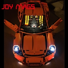 JOY MAGS Led Building Blocks Light Up Kit For TECHNIC Porsche 911 GT3 RS Compatible With Lego 42056 Lepin 20001 Excluding Model(China)