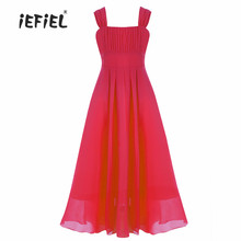 iEFiEL 2017 Brand New Flower Girl Dresses Real Party Pageant Communion Dress Little Girls Kids Princess Dress for Wedding