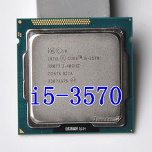 Intel i5 3570 Processore Quad-Core 3.4 Ghz L3 = 6 M 77 W Socket LGA 1155 CPU Desktop lavoro 100% Spedizione Gratuita(China)