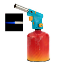 Welding Soldering Lighter Butane Burner Gas Torch Flamethrower BBQ Tool Camping Electronic Ignition Gun Welding Cutting Drying