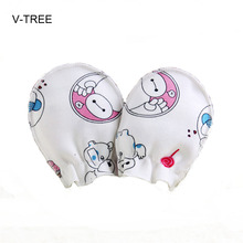 Newborn baby gloves Newborn Baby Mittens Cotton Anti Scratching Soft cotton gloves for newborn babys