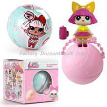 1pcs quality perfect LOL SURPRISE DOLL Baby Tear Open Change Egg Doll Action Figure Changing Toys For Children Gifts wholesale