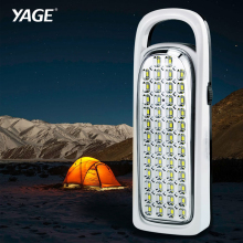 YAGE 3535 portable light led spotlights camping lantern searchlight portable spotlight handheld spotlight energy light(China)