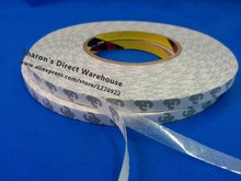 1x 8mm width X 50M Length 3M9080 Double Sided Adhesive Tape Sticker Rework for LED Ipod Screen Sticky Acrylic Acid