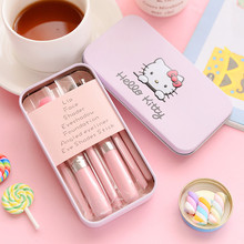 7PCS Hello Kitty Makeup Brushes set,Cute makeup brushes set for girl