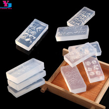 10pcs DIY Acrylic Nail Art Template Kit Mold Set Manicure Decoration Women Tools Gel Polish Stamper 3D Flower Nails Image Plate