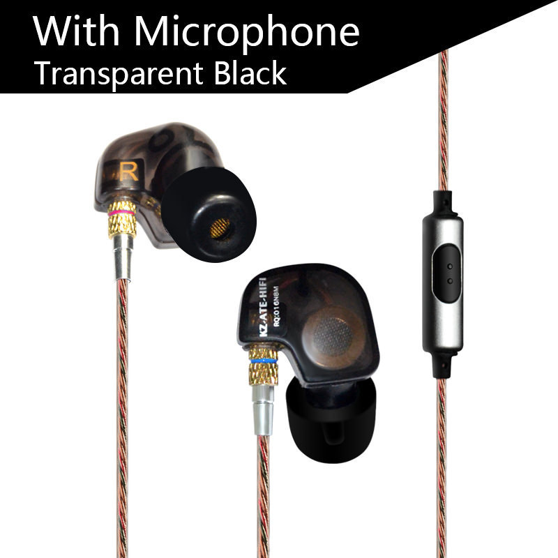 2017 kz ate in ear Earphone HIFI ear phones hands free for huawei for xiaomi piston 2 with microphone vs se215 ie800 tablet<br><br>Aliexpress