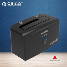 ORICO 8618SUS3 USB3.0&e-SATA External HDD Hard Drive & SSD Docking Station for 2.5 & 3.5 inch SATA [Support 8TB Drive]-Black(China)