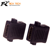 Short HDMI female-female adapter for connecting two HDMI cable HDMI / F TO HDMI / F Adapter L=23MM 20pcs/lot