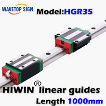 HIWIN Linear Guides HGR35 length 1000mm  also can cutting according clients requirement 46usd/meter