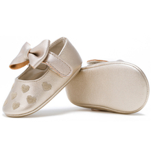 Newborn baby soft sole baby leather toddler shoes embroidered love Kids First Baby Walkers toddler girl shoes infantil