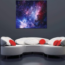3D Tapestry Print Mysterious Starry Sky Pattern Wall Hanging Decor Beach Towel #1 153 x 130cm(China)