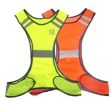 Fluorescent Yellow Orange High Visibility Reflective Vest Security Equipment Night Work New Arrival High Quality(China)