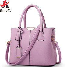 ATTRA-YO 2016 Brand Women leather handbag Ladies messenger bag crossbody shoulder bags new Bolsos high quality LM4324ay2(China)