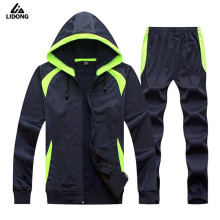 Winter Kids Men Long sleeve Survetement Football 2017 Kit Soccer Sets Jerseys Futbol jersey Sports Training Pants Jackets Hooded