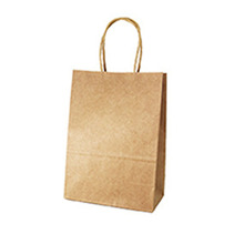21*15*8cm Classic kraft Paper Bag Candy Tote Bags Portable Gift Bags Party Wedding Shopping Supplies Favors Gift 11 Color