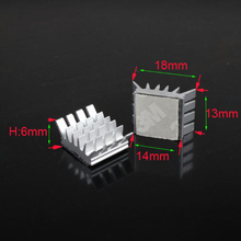 10PCS Computer for Xbox360 PS VGA Graphics Card DDR RAM Video Memory Cooling Cooler Aluminum Heatsink